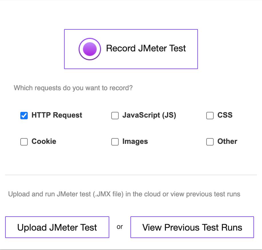 record jmeter chrome extension